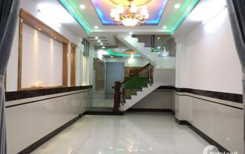 Nhà bán An Dương Vương, 4mx13m, sổ riêng, 4 tấm, đường nhựa 8m thông