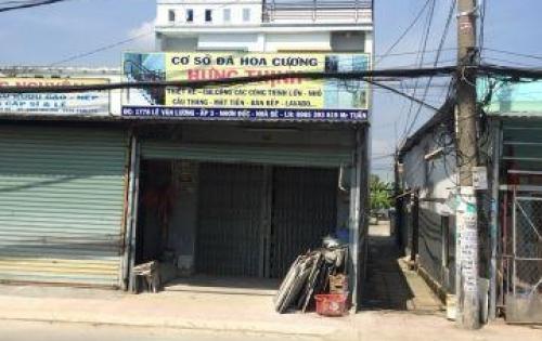 Bán nhà mặt tiền Lê Văn Lương , Nhà Bè. LH 0326221551