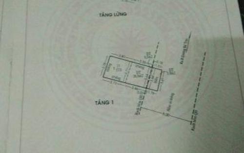•Bán nhà hẻm đường Dương Bá Trạc P1Q8 DT 3,6 x 9m. Giá 3 Tỷ 1