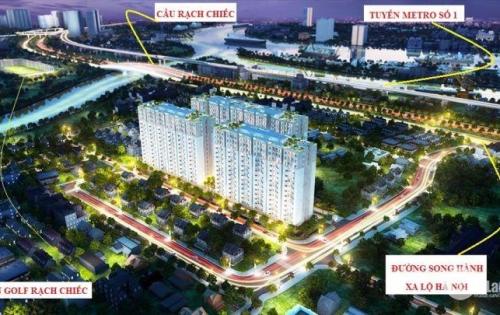 Căn Hộ Him Lam Phú An T11/2018 bàn giao nhà, giá chỉ 1,9tỷ/căn 70m2 - thanh toán 45% nhận nhà