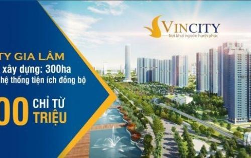Nhận gửi chổ căn hộ, nhà phố, shophouse dự án Vincity. cam kết giá bán tốt nhất.