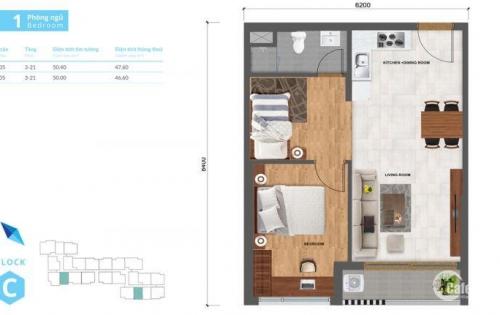 Cơ hội dành cho nhà đầu tư thông thái, căn hộ Safira kề Thủ Thiêm bán đợt đầu chỉ từ 23,5 triệu/ m2 tim tường