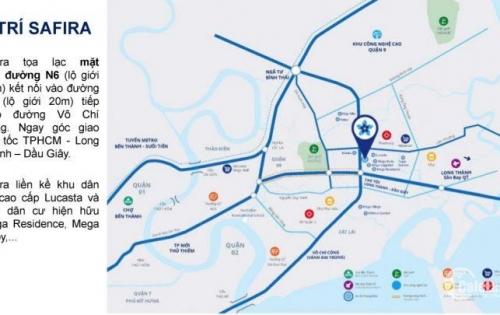 Mua căn hộ Safira Khang Điền ngày mở bán, nhận ngay 2% chiết khấu.