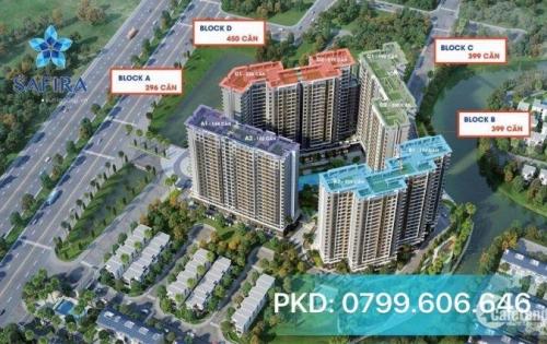 Bán căn hộ Safira Khang Điền, chỉ 1,2 tỷ, vay 70%, góp 6-8tr, CK đến 50tr.