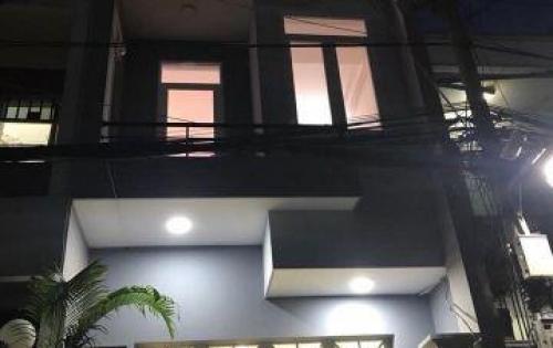 Nhà mới MT chợ, LK 4-5,1t3l, sổ hồng riêng cc,dt:4,3x14, Bình Tân