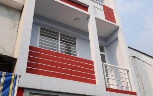Bán nhà mới, dt:4x17m hẻm thông 6m Hương Lộ 2, QL 1A giá 3.4 tỷ(TL)