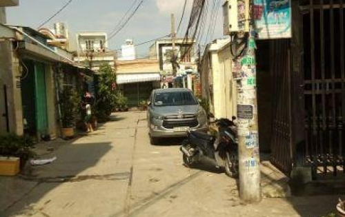 Bán nhà sổ hồng 60m2 giá rẻ 2 tỷ đường Lê Trọng Tấn, Bình Tân
