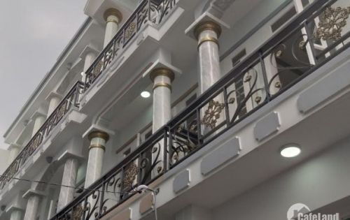 Nhà mới xây cực đẹp đường 12m đường số 4, Bình Tân, 4x10m, 3 tấm, 1,95ty