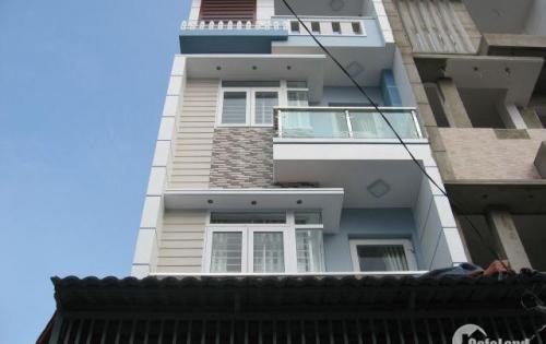 Nhà mới 100%, 4x16m, hẻm 8m đường Lê Đình Cẩn, 4 tấm