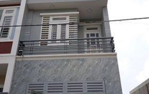 Nhà mới 1 trệt 2 lầu đầu đường lê văn khương cuối đường lê đức thọ