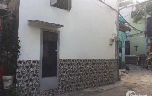 Nhà (DT: 23,3m2) 1 lửng- Hẻm 3,5m- Đường số 30 F6