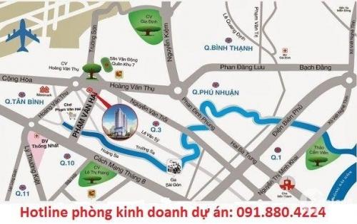 Cơ hội đầu tư CH 2 mặt tiền Phạm Văn Hai & Hoàng Văn Thụ. Sổ hồng vĩnh viễn
