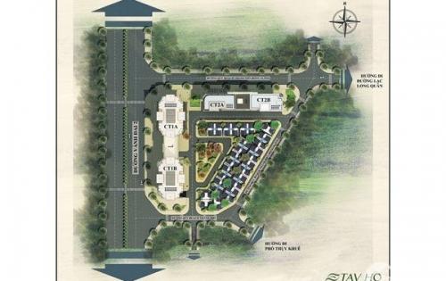 Tây Hồ Residence-dự án hot nhất Võ Chí Công, giá từ 38tr/m2,ưu đãi 40%