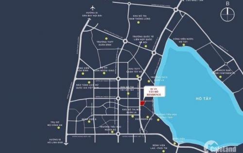 Chung cư căn hộ Tây Hồ Residence mở bán chính thức tôn vinh gái trị cuộc sống