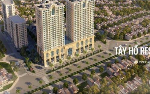 Chung cư căn hộ Tây Hồ Residence Mở bán chính thức