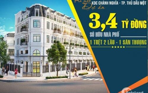 Nhà phố KDC Chánh Nghĩa trung tâm TP TDM giá F1 cực mền cho các nhà đầu tư hoặc ở