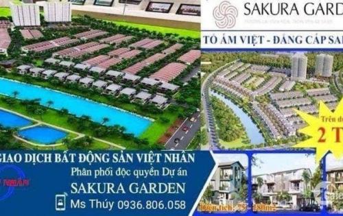 Mở bán dự án - Bắc sông cấm - Vsip Hải Phòng - giá trên dưới 2 tỷ - chủ đầu tư Nhật & Vsip