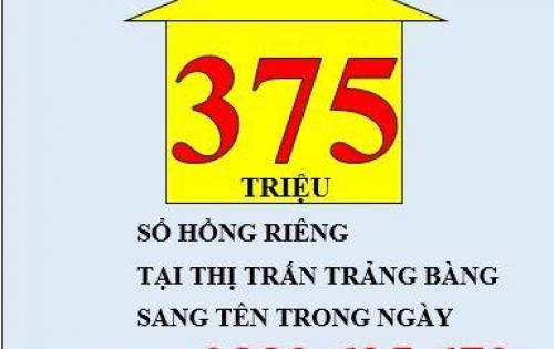 Bán Nhà Tại Thị Trấn Trảng Bàng Tây Ninh