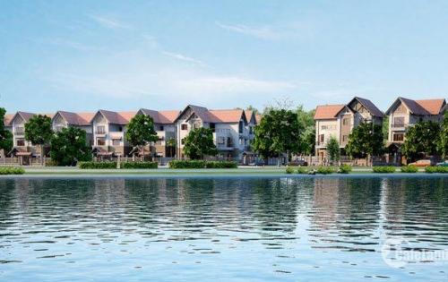 Bán biệt thự song lập Thành Phố Giao Lưu - 242 m2 view mặt hồ. Liên hệ: 0905291992