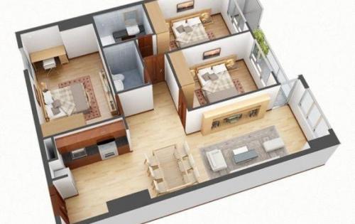 Bán căn hộ 3PN, DT 83m2 khu Nam Cường, 234 Hoàng Quốc Việt, giá rẻ 2,2 tỷ, mới.