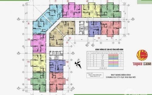 Cần bán căn hộ 1214 cuả dự án Thăng Long City Đại Mỗ, 3PN, 2WC. LH: 0975247569