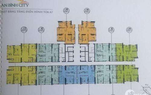 Căn 3PN vào tên trực tiếp chủ đầu tư, giá tốt dự án An Bình city. LH: 0984.922.983