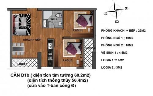 Nhận ngay ưu đãi cực khủng khi mua chung cư Hanhud – Hoàng Quốc Việt, chỉ với 25tr/m2