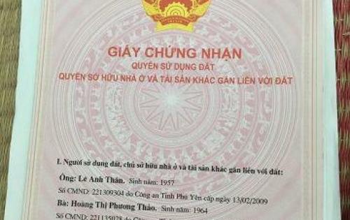 Bán lô đất có nhà cấp 4 nhỏ tại đường Lê Hồng Phong, TP Tuy Hòa, tỉnh Phú Yên