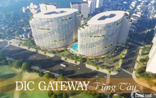 Dic Gateway căn hộ nghỉ dưỡng 5* đẹp nhất Vũng Tàu giá chỉ từ 1ty/căn.LH CĐT 0974256249