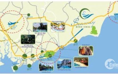 Đất nền dự án Seaway Bình Châu  chỉ 390tr/nền