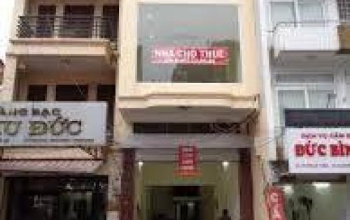 Có cửa hàng cho thuê mặt phố CỰC ĐẸP Nguyễn Thái Học 100m, MT 5,5m.