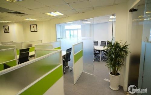 Cho thuê văn phòng trọn gói gần Ks Sofitel, 152 Phó Đức Chính, Ba Đình, giá 10 triệu/phòng 8 người