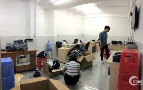 Văn phòng 27m2 đầy đủ nội thất và tiện ích đi kèm trong tòa nhà văn phòng quận Bình Thạnh