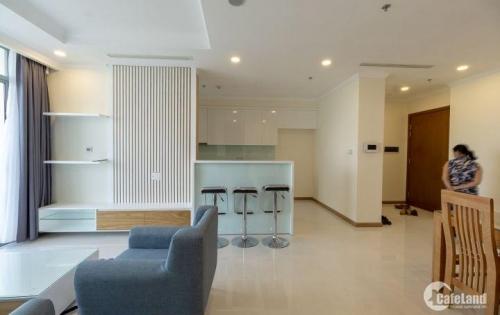 Cho thuê CH Vinhomes Central Park 3PN full nội thất, tầng trung view Landmark 81 giá 27 triệu/tháng LH 0931.46.77.72