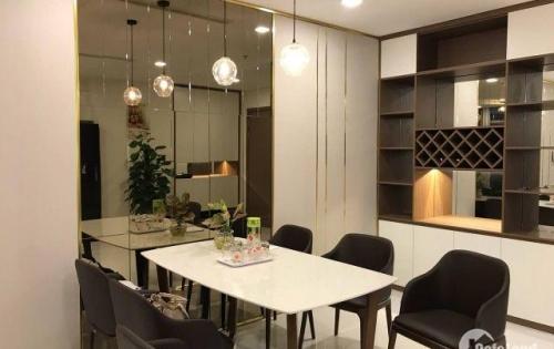 Cho thuê Nhanh CH cao cấp 3PN full nội thất, có ban công siêu rộng trực diện Landmark 81, tầng cao giá cho thuê 27,5 triệu/tháng  . LH: 0931.46.77.72