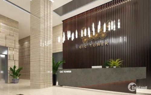 Cho thuê văn phòng tòa nhà CIC Tower 219 Trung Kính - Cầu Giấy. DT 100 - 200 - 300 - 400 - 500 - 1000m2