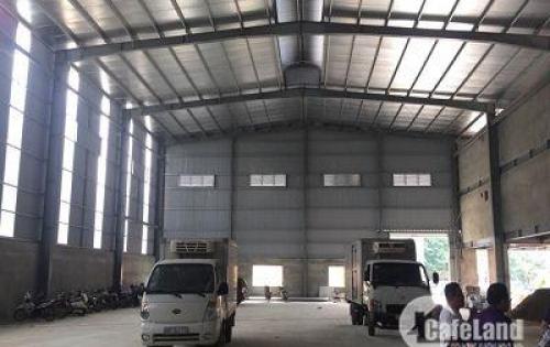 Cho thuê kho xưởng tiêu chuẩn tại Nguyên Khê đông anh hà nội DT 5015m2 (có cắt nhỏ) giá rẻ