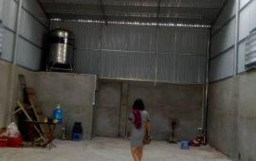 Cho thuê kho, xưởng tại Ngã Tư Trâu Qùy rộng 100 m2. Xem ngay.