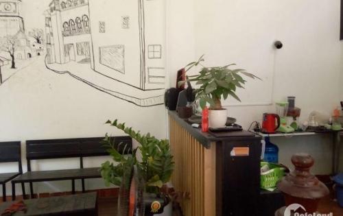 Sang nhượng quán cà phê DT 50 m2 hai mặt tiền 4 m + 8 m Q.Hà Đông Hà Nội