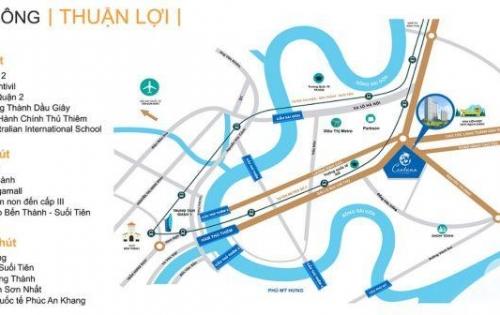 Hot- Cho thuê mặt bằng thương mại căn hộ Centana Thủ Thiêm, MT Mai Chí Thọ, Quận 2, nhiều diện tích để lựa chọn