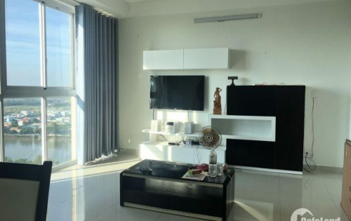 Cho thuê 105m2 Belleza 3pn + 2wc, nội thất đầy đủ, view sông Đông Nam Phạm Hữu Lầu 11tr 0931442346