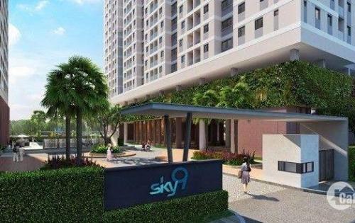 Cho thuê căn hộ Sky 9 giá rẻ, view đẹp. LH: 0938 79 43 12 ( gặp Tiên )