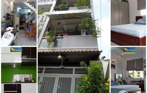 Bán nhà 2 lầu (3.7mX15.5m) t.kế đẹp hẻm văn minh đường Thích Quảng Đức, phường 5, quận Phú Nhuận