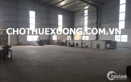 Cho thuê kho xưởng tiêu chuẩn tại KCN Trung Hà Tam Nông Phú Thọ