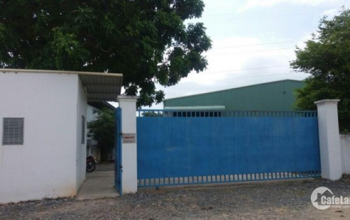 Cho thuê nhà xưởng DT 4004 m2, ngay cảng Cái Mép - Vũng Tàu