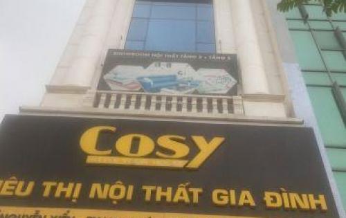 Cho thuê văn phòng căn góc 2 mặt tiền Nguyễn Xiển – Thanh Xuân, lô góc 150m2, MT9m