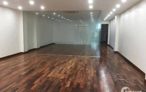 cho thuê văn phòng dt 140m2, mt 8m oto đỗ tại hầm tại 47 nguyễn xiển.