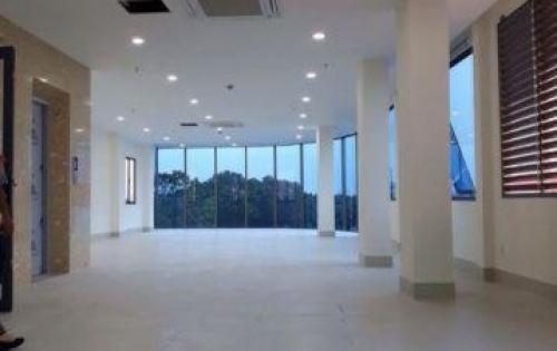 Cho thuê sàn văn phòng thông Tầng 5, DT 170m2, mặt tiền 9m mặt phố Nguyễn Xiển, Thanh Xuân
