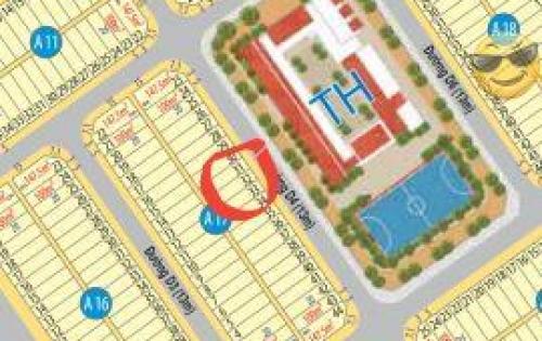 Bán nhanh lô đất Mega 1 ngay trường học, giá mềm sập sàn giá 790tr. LH 0934.54.56.57