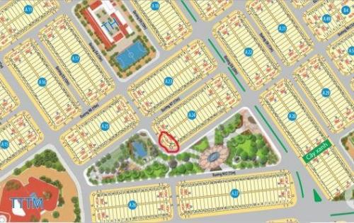Hot bán nhanh lô góc Mega 1 ngay công viên trung tâm, giá mềm sập sàn giá 12tr/m2. LH 0934.54.56.57